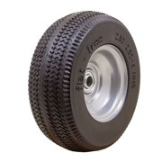 MARASTAR 00090 Flat Free Wheel,Polyurethane,275 lb,Gray
