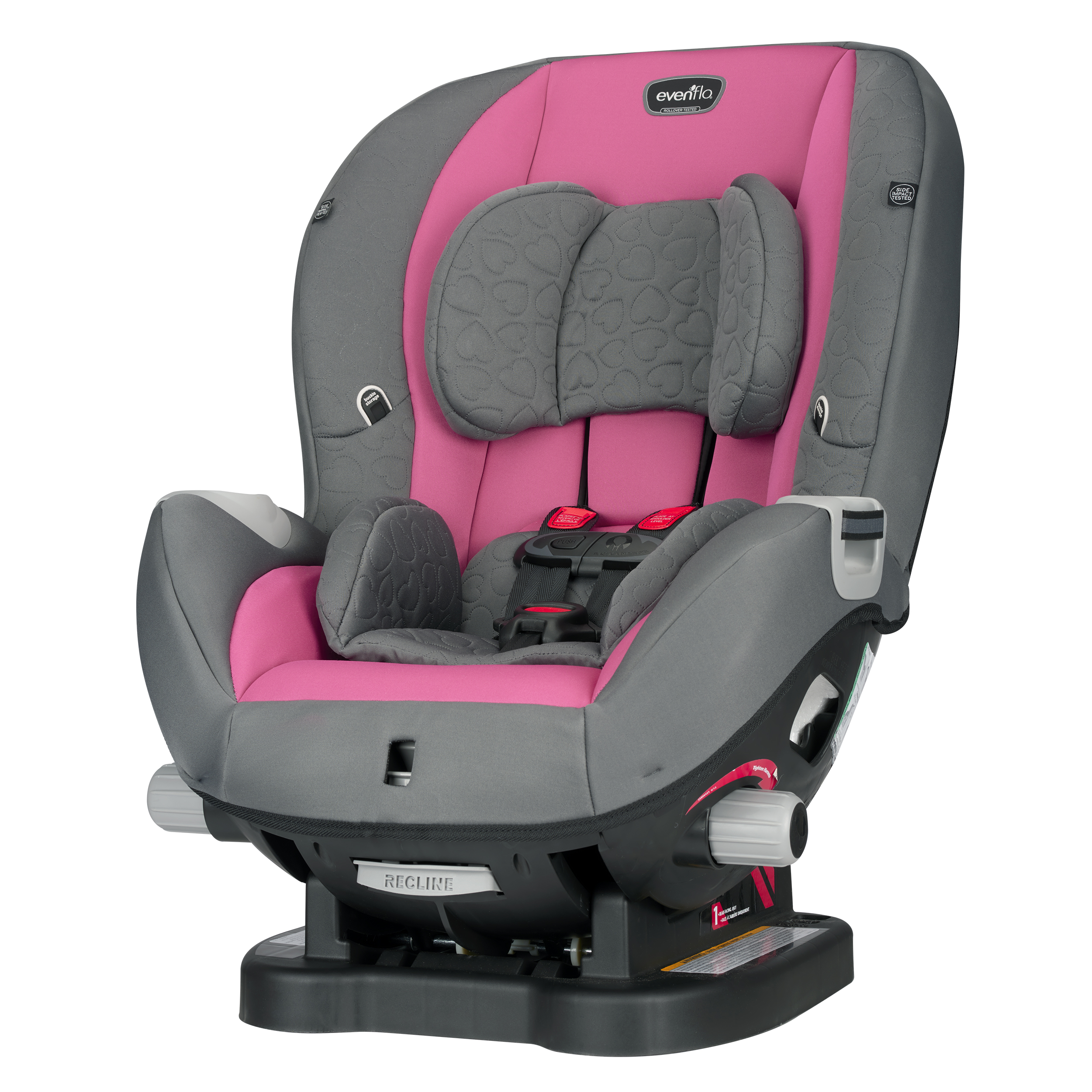 Evenflo Advanced Triumph Convertible Car Seat Kora Pink