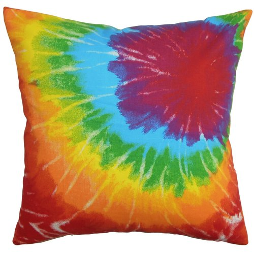 The Pillow Collection Betrys Cotton Throw Pillow
