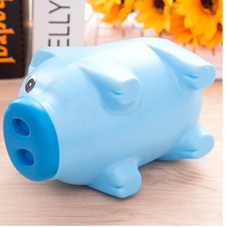 Hot Sale Cute Plastic Piggy Bank Pig Cash Coin Money Saving Box Children Toys Kids Gifts (Plastic Piggy Bank)