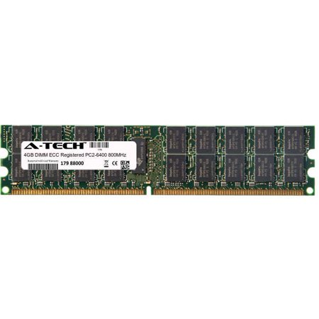 (4GB Module PC2-6400 800MHz ECC Registered DDR2 DIMM Server 240-pin Memory Ram)