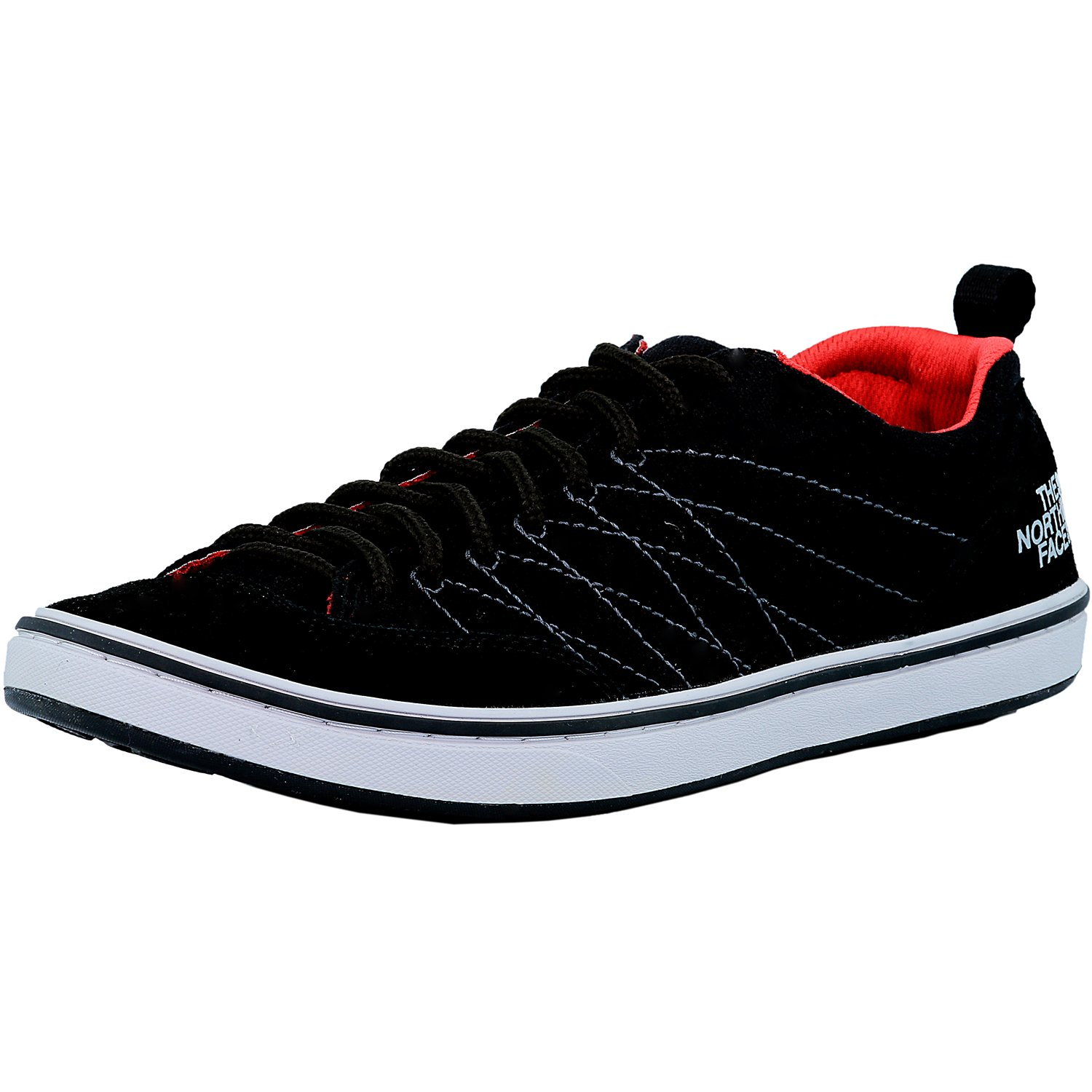 The North Face Men's Base Camp Approach Tnf Black/Tnf Red Ankle-High Fabric Fashion Sneaker - 8M