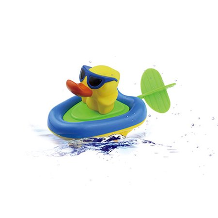 Baby Bathing Boat Animal Toys Infant Kids Children Swimming Pool Pull Toy