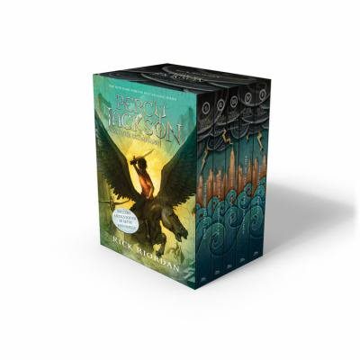 Percy Jackson And The Olympians  New Covers With Poster