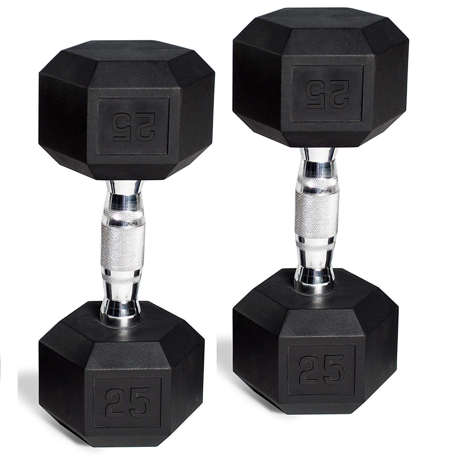 Weider 10 lb Pound Pair 20 lbs TotalBrand New 2 Rubber Hex Dumbbell Weights