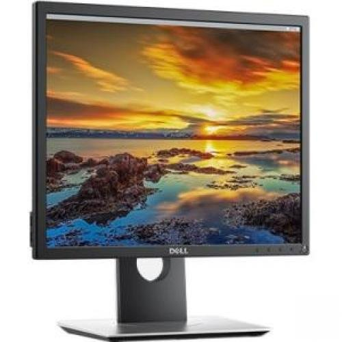 """Dell P1917s 18.9"""" Led Lcd Monitor - 5:4 - 6 Ms - 1280 X 1024 - 16.7 Million Colors - 250 Nit - 4,000,000:1 - Sxga - Hdmi - Vga - Displayport - Usb - 38 W - Black - Tco Certified Displays, (p1917s)"""