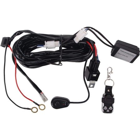 remote control wiring harness for led light bar 40a fuse. Black Bedroom Furniture Sets. Home Design Ideas