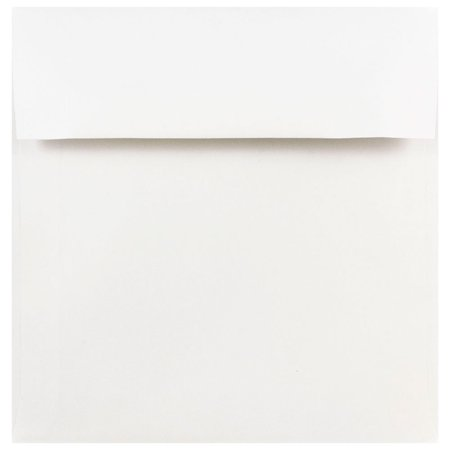 jam paper 8 x 8 square invitation envelope white 50 pack walmart com