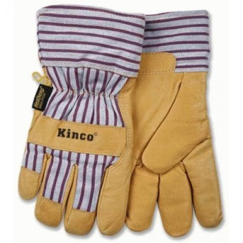 KINCO INTERNATIONAL Extra-Large Men's Premium Grain Pigskin Leather Palm Gloves