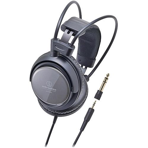 Audio-Technica Closed-back Dynamic Monitor Headphones, Black