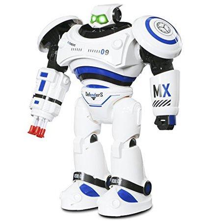 Ifixer Large Rc Robot Toy For Kids Chirstmas Xmas Gift  Interactive Walking Singing Dancing Smart Robotics  Programmable Gesture Sensing Robot Kit