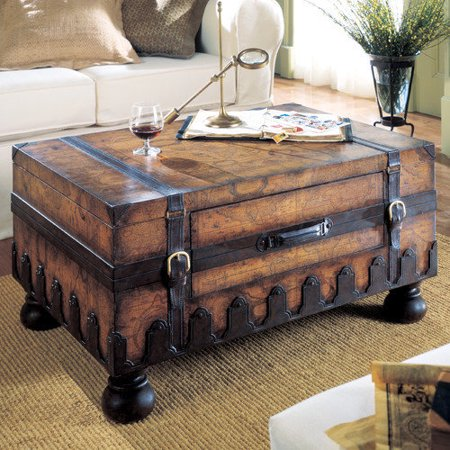 Butler Trunk Coffee Table Heritage