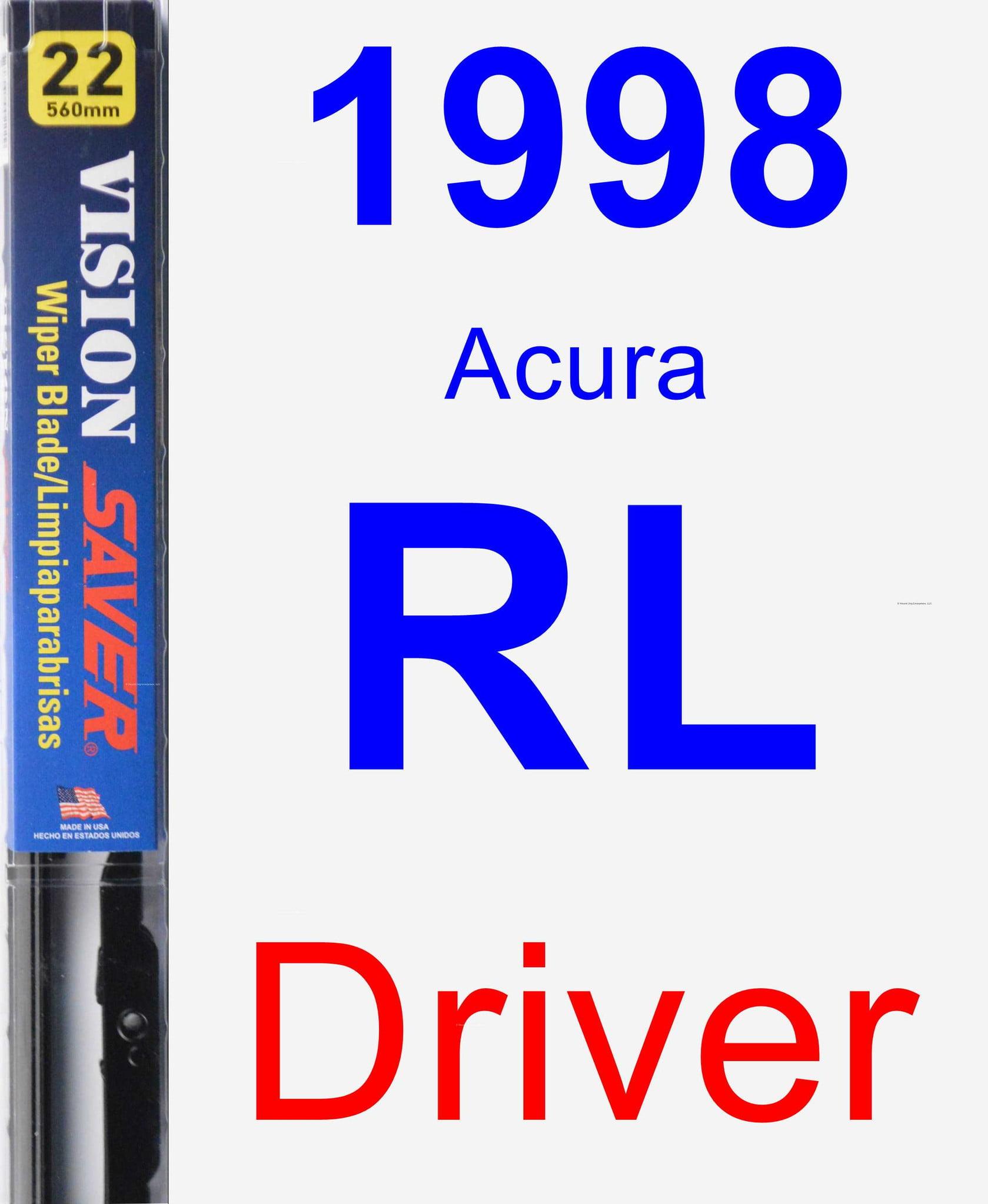 1998 Acura RL Driver Wiper Blade