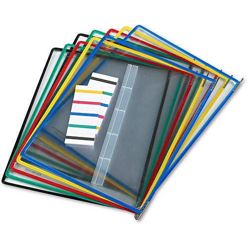 Tarifold, Inc. Replacement Pivoting Pockets for Wall Unit & Desktop Starter Set, 10/Pack