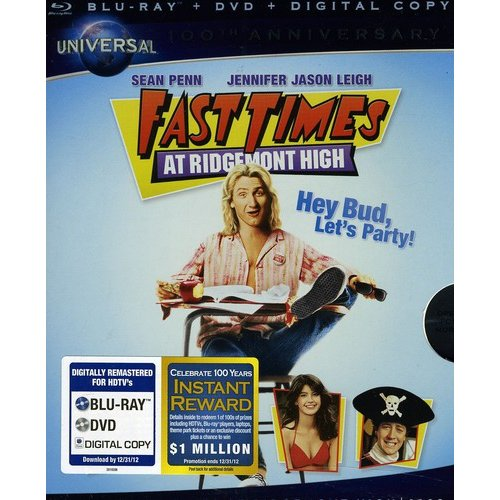 Fast Times At Ridgemont High (Universal 100th Anniversary Collector's Series) (Blu-ray + DVD) (Widescreen)