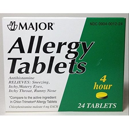 Image of Allergy Tablets Lasts 4 Hours 24 Tablets