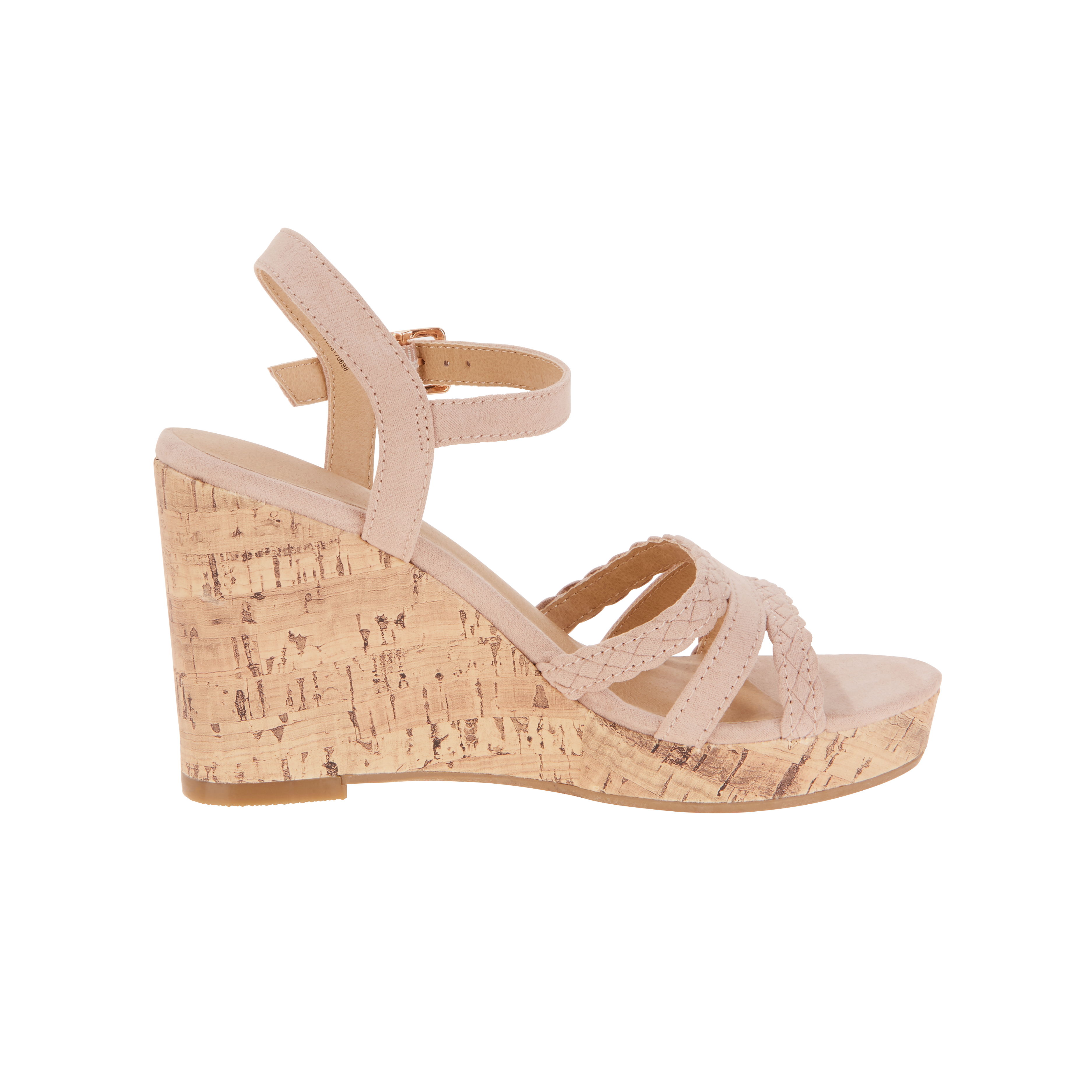 2bb5141c86e88 Time and Tru - Time and Tru Women s Strap Wedge Sandal - Walmart.com