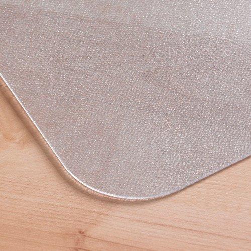 cleartex 36 x 48 hard floor chair mat lip image 2 of 5