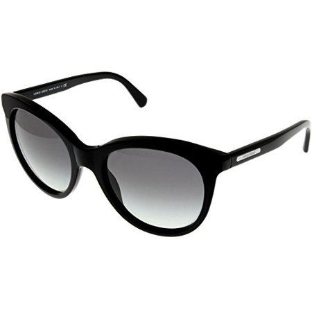 Giorgio Armani Sunglasses Women Black Round AR8041 501711 Size: Lens/ Bridge/ Temple: 55-20-140 ()