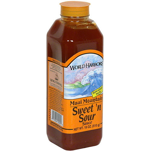 World Harbors Maui Mountain Sweet N Sour Sauce 16 Oz Pack Of 6 Walmart Com Walmart Com