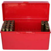 MTM RM Flip Top, 60-Round Ammo Case, Red