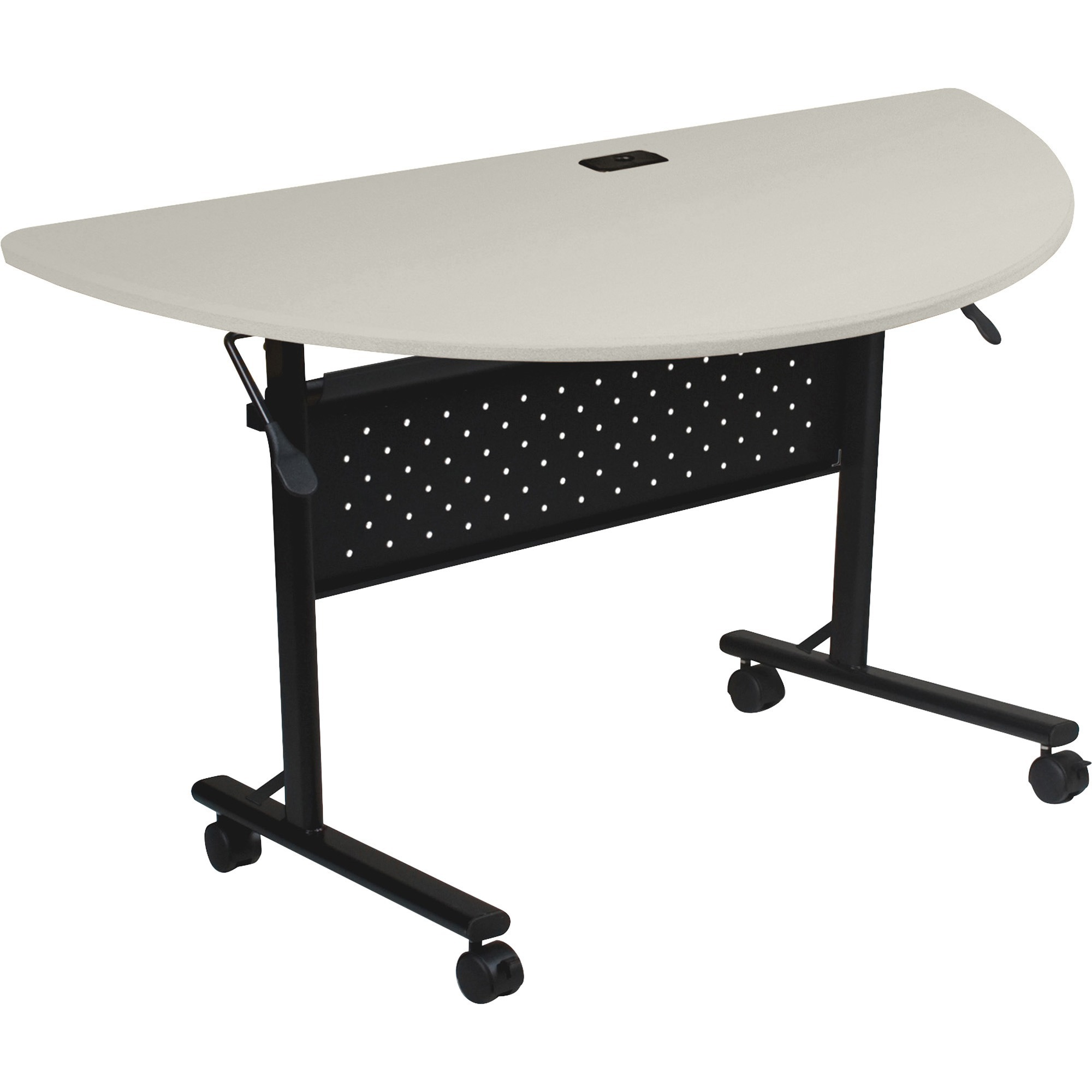 Lorell, LLR60665, Flipper Training Table, 1 Each