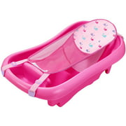 The First Years Sure Comfort Deluxe Newborn to Toddler Tub with Sling - Pink