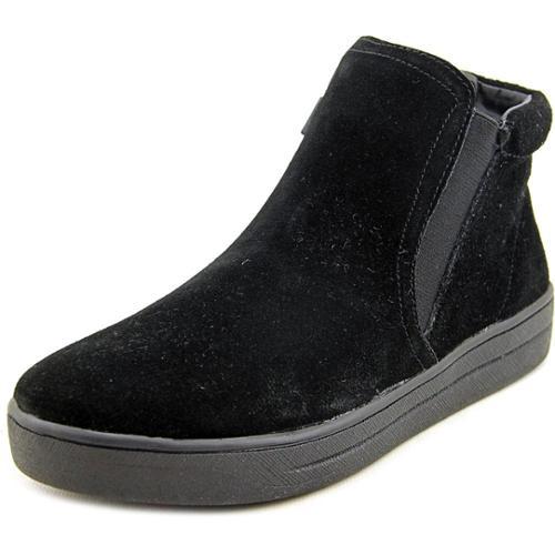 Easy Spirit Tiramisu Women Round Toe Suede Black Sneakers by Easy Spirit