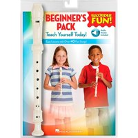 Hal Leonard Recorder Fun! Beginner's Pack Book/Online Audio/Instrument