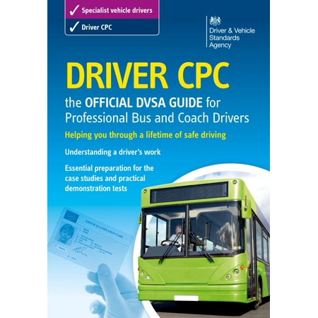 Driver CPC – the official DVSA guide for professional bus and coach drivers - eBook