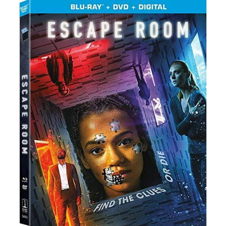 Escape Room (Blu-ray + DVD + Digital - Magic Halloween Escape 2