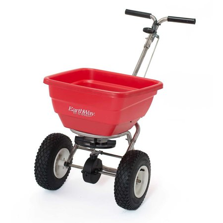 Earthway F80S Commercial Stainless Steel Adaptable Seed and Fertilizer Spreader