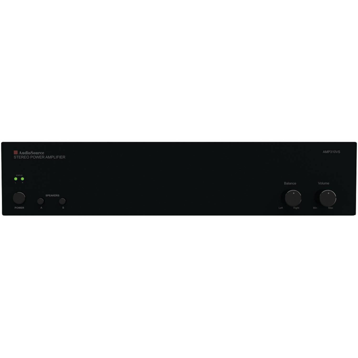 AudioSource AMP310VS 2-Channel Power Amplifier with 150 Watts Per Channel by AudioSource