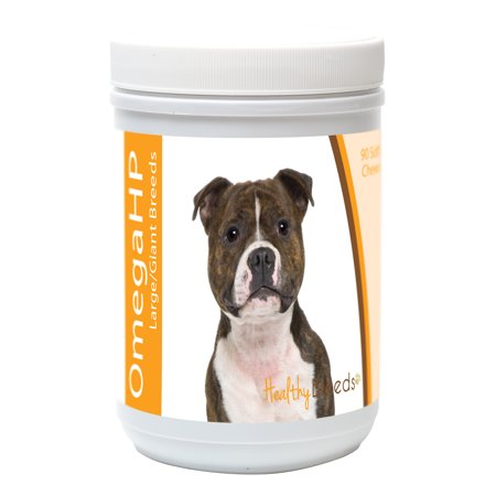 Healthy Breeds Staffordshire Bull Terrier Omega HP Fatty Acid Skin and Coat Support Soft