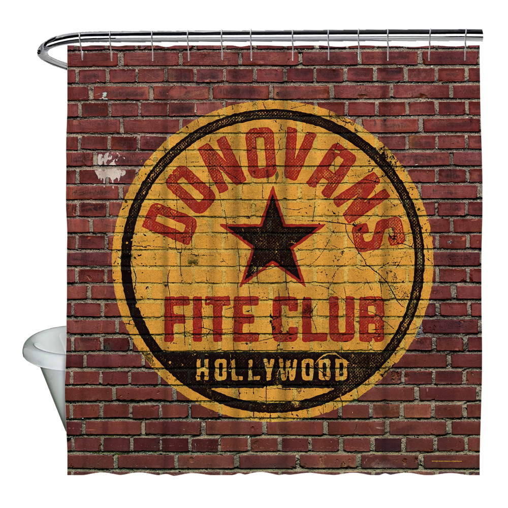 Ray Donovan Fite Club Shower Curtain White 71X74