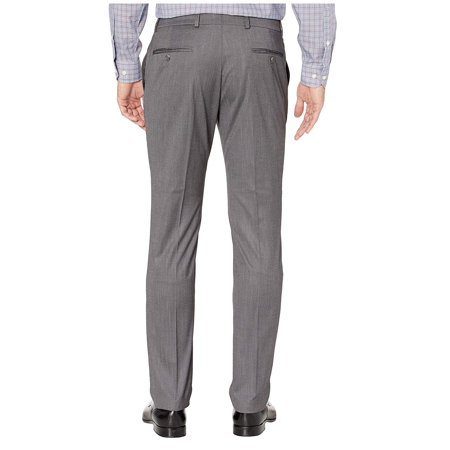 Kenneth Cole Reaction Solid Stretch Skinny Suit Silver Shoes Seersucker Suit