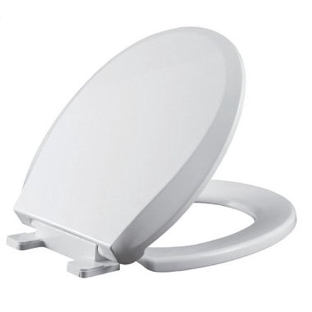 Premium Toilet Seat Elongated Slow Close Seat and Cover / Easy Lift-Off Clean / Fits Kohler, American Standard,