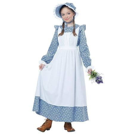 Pioneer Girl Child Costume