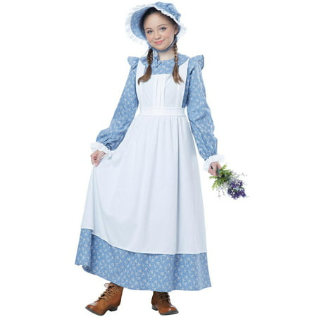 Pioneer Girl Child Costume - 3d Costume Girl