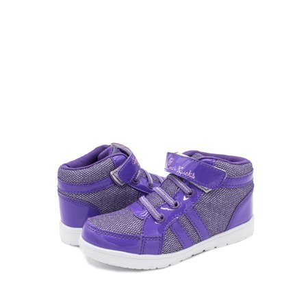 stylesilove Kids Girl Breathable Running Shoes Sport Athletic Sneaker (12M US Little Kid, Purple)