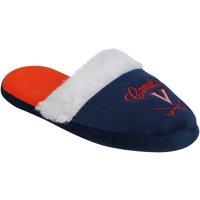 Virginia Cavaliers Women's Colorblock Fur Slide Slippers