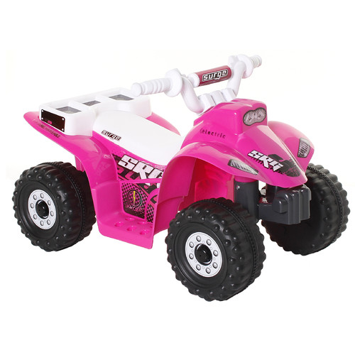 Surge Quad Girls' 6-Volt Battery-Powered Ride-On, Pink