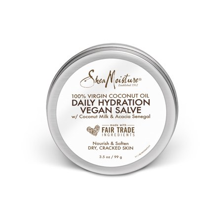 SheaMoisture 100% Virgin Coconut Oil Daily Hydration Dry Skin Vegan Salve 3.5