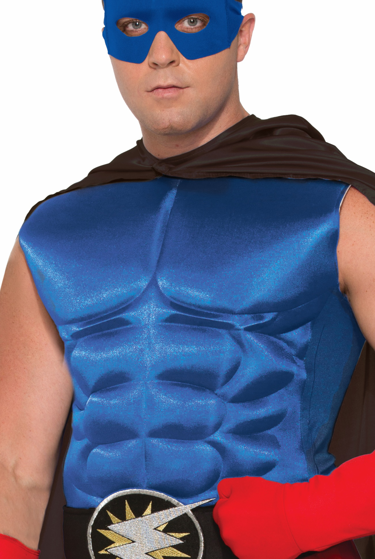 Adultu0027s Blue Superhero Or Villain Muscle Chest Padded Shirt Costume Accessory - Walmart.com  sc 1 st  Walmart & Adultu0027s Blue Superhero Or Villain Muscle Chest Padded Shirt Costume ...