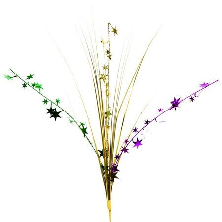 Mardi Gras Stars Centerpiece Spray](Mardi Gras Centerpieces)