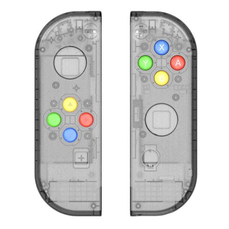 Replacement Housing Shell Case for Nintendo Switch NS Controller Joy-Con game console switch shell (Only Joy con shell Smoke black)