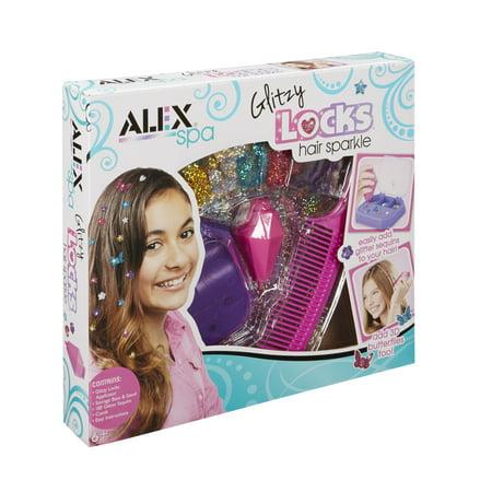 Glitzy Girl - Alex Spa Glitzy Locks Hair Sparkle