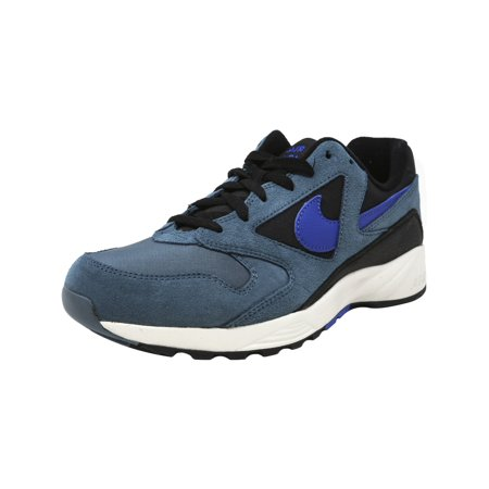 Nike Men's Air Icarus Extra Qs Iced Jade / Racer Blue-Black Ankle-High Leather Running Shoe - 7.5M - image 1 of 1