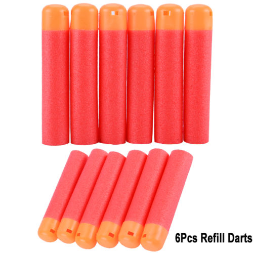 60Pcs Refill Darts Blaster Bullet Fr Nerf N-Strike Mega Centurion Toy Gun