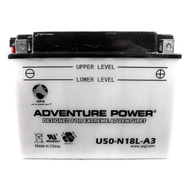 UPG 42006 U50-N18L-A3, Conventional Power Sports Battery
